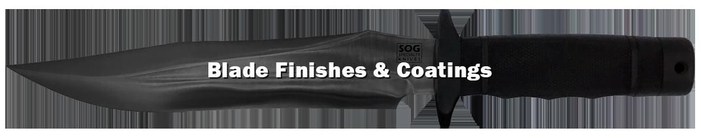 Blade finishes & coatings