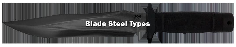 Blade steel types